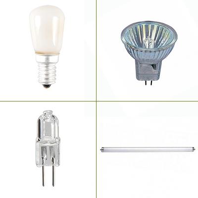 Vervangingslampen 12V